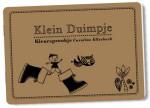 Hunnie- Kleursprookje Klein Duimpje